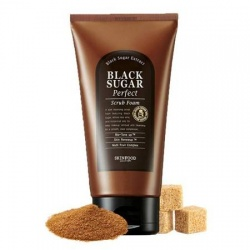 Skinfood Black Sugar Perfect Scrub Foam 180ml - peeling wygładzający