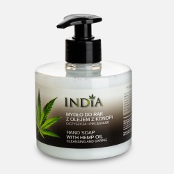 India Hand Soap with Hemp Oil 300ml - MYDŁO DO RĄK W PŁYNIE