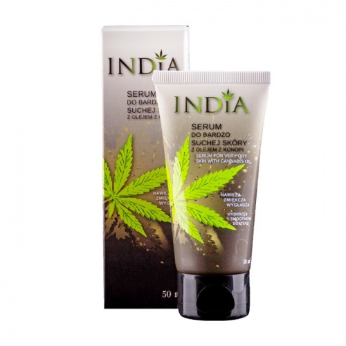 India Serum For Very Dry Skin with Cannabis Oil 50ml - SERUM nawilżająco-regenerujące