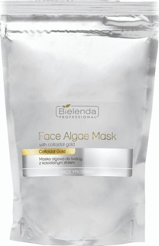 Bielenda Professional Face Algae Mask With Colloidal Gold 190g - Maska algowa z koloidalnym złotem