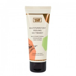 Nature Queen Exfoliating Face Scrub - Multifunkcyjny Peeling do Twarzy