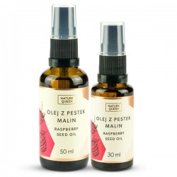 Nature Queen Raspberry Seed Oil - Olej z Pestek Malin