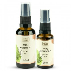 Nature Queen Hemp Oil - Olej Konopny