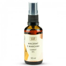 Nature Queen Carrot Oil 50ml - Olej Marchwiowy