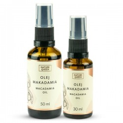 Nature Queen Macadamia Oil - Olej Makadamia