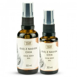 Nature Queen Chia Seed Oil - Olej z Nasion Chia